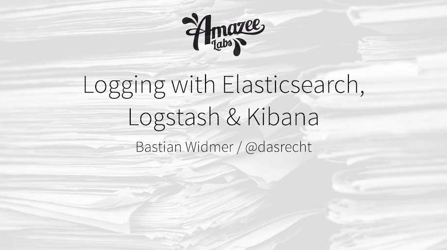 2014-04-22_LoggingWithLogstash_BastianWidmer_CampusBern
